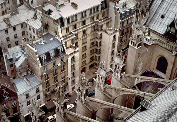 Paris Rooftops from Notre Dame Cathedral