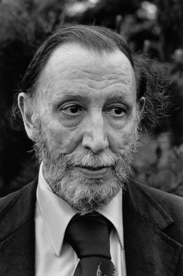 American Composer Alan Hovhaness at his home.